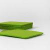 filzglasuntersetzer gruen
