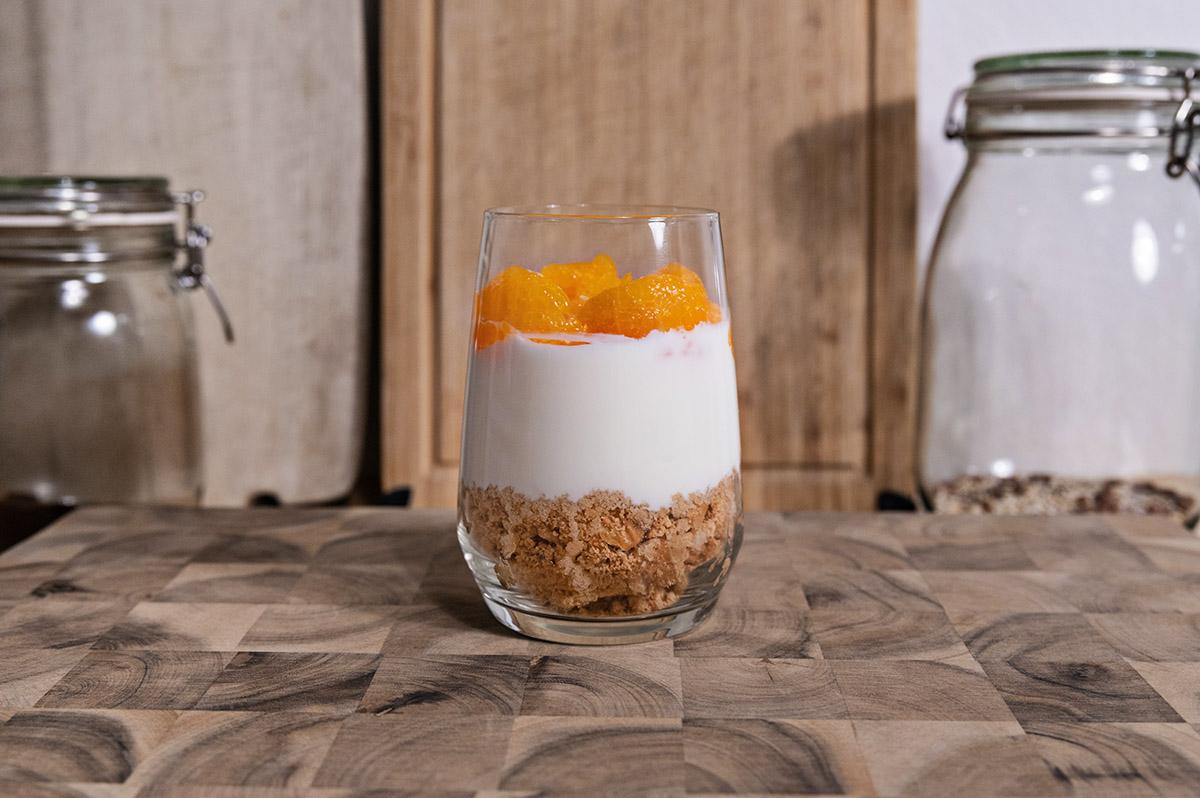 Spekulatius Dessert im Glas