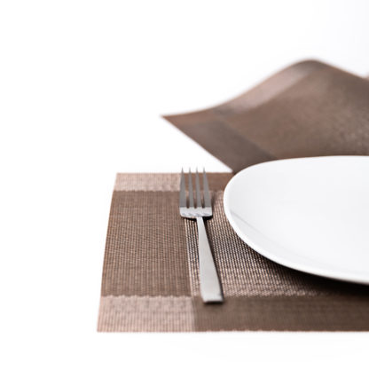 Tischset Tamina dunkelbraun