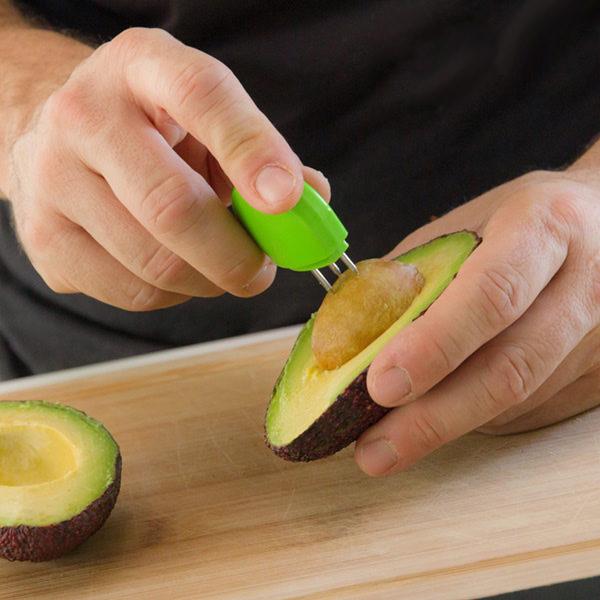 Avocadoschneider Kern Entferner