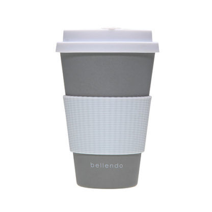 Kaffebecher To Go Bamboo Anthrazit