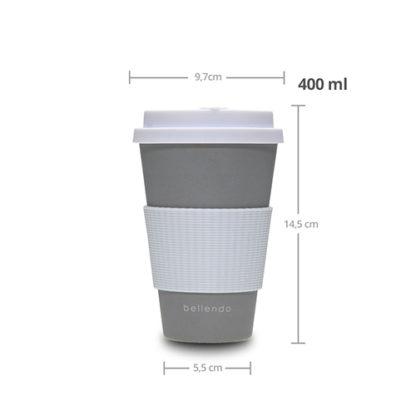 Kaffee To Go Becher 400ml
