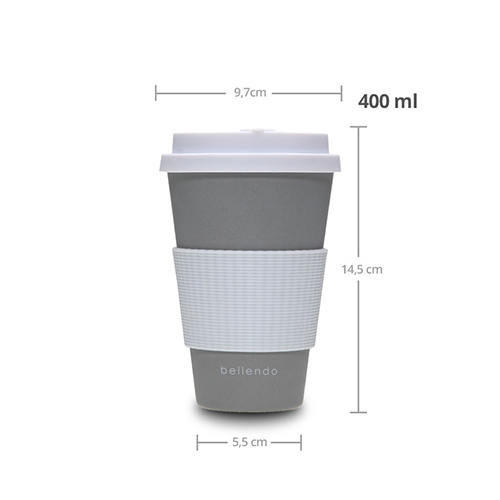 Kaffee To Go Becher 400ml