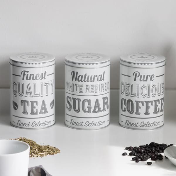Vorratsdosen Sweettooth Tea Sugar Coffee