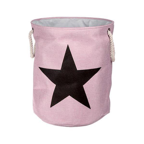 Waeschekorb Laundrystar Pink