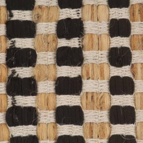 Badteppich Jute Style Set Geflochten