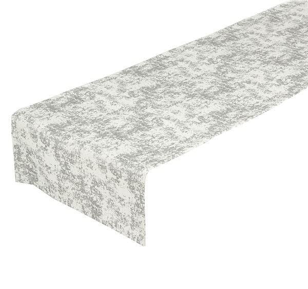 Tischlaufer Silberstreif