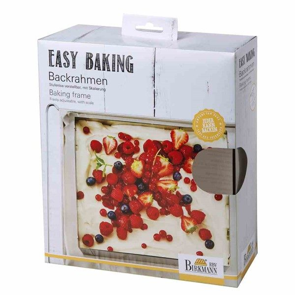 Backrahmen Easy Baking Stahl