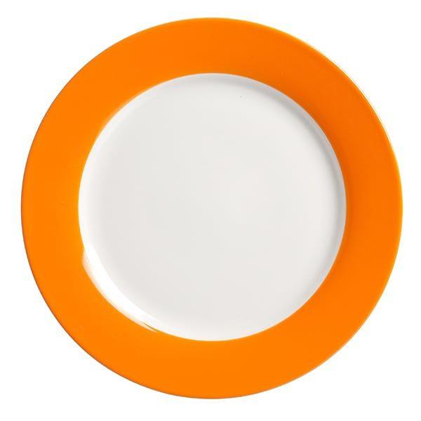 Desserttelller Doppio Orange