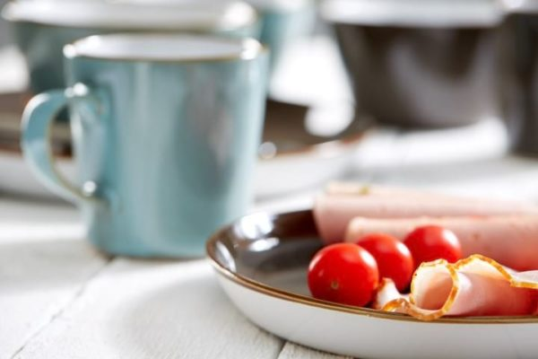Kaffeebecher Visby Blau Lifestyle