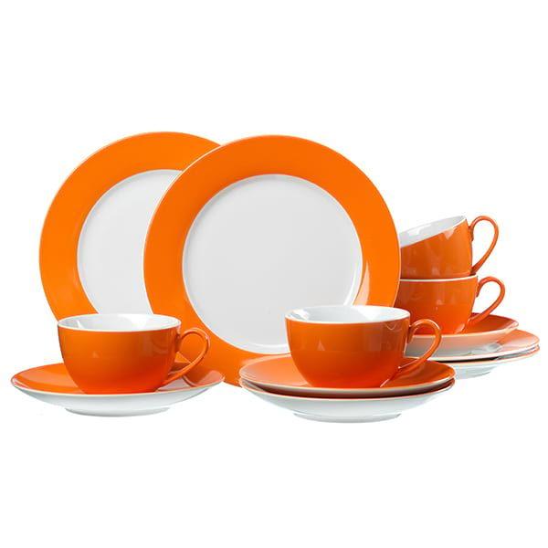 Kaffeservice Doppio Orange