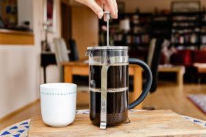 French Press Kaffeezubereitung