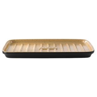 grillplatte mit stegen