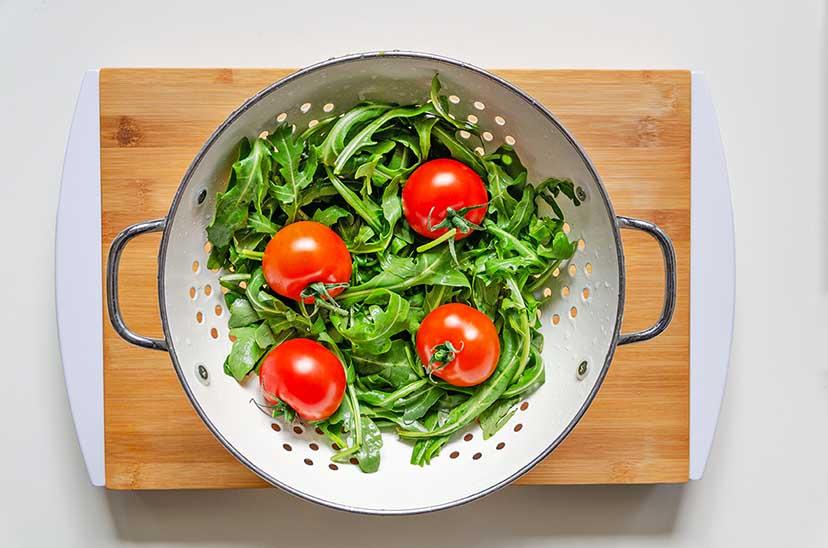 Sommergemüse Salat