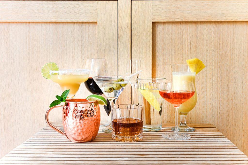 Cocktailgläser Arten