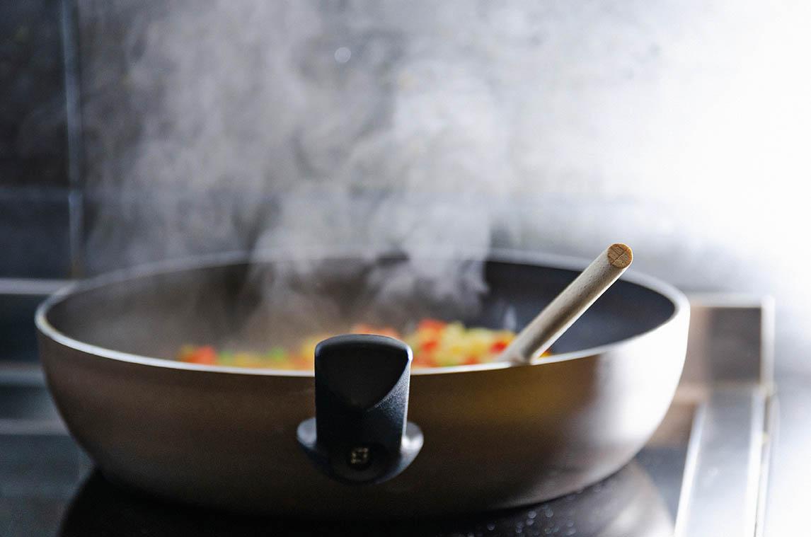 pfanne für heißes anbraten