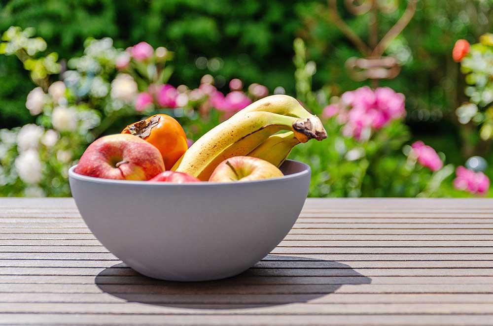 gegen hitze obst im sommer essen