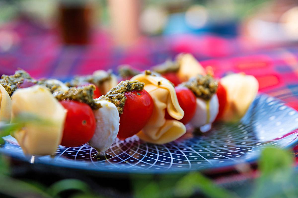 picknickidee nudelsalat am spieß