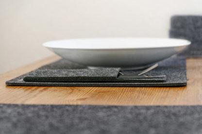 Tischset aus filz