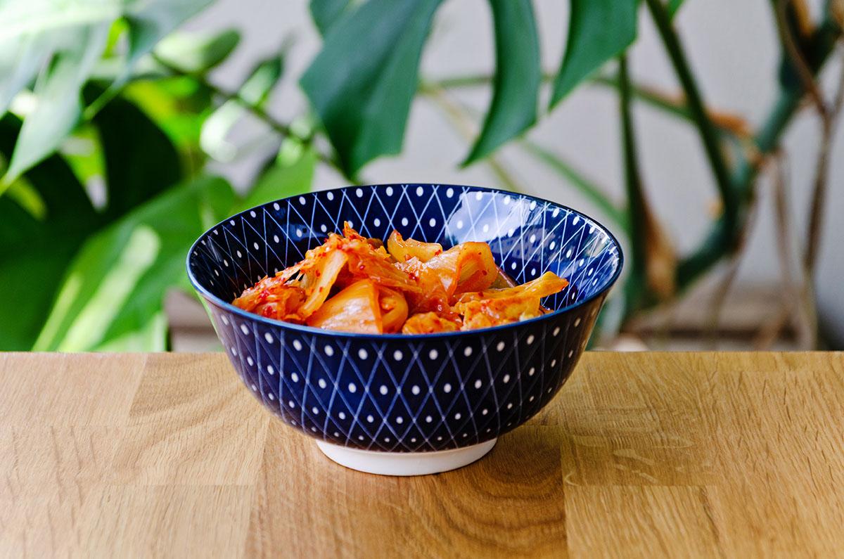 Kimchi in Schale Reiko