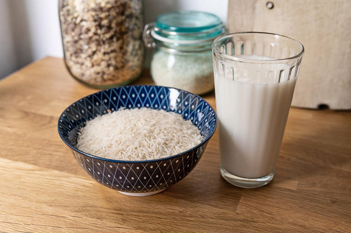 Milchersatz aus Reis