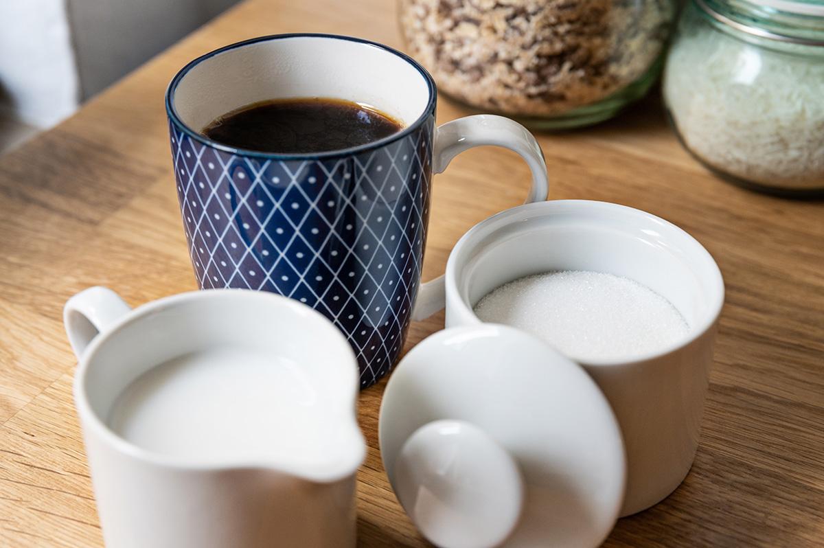 Milchersatz für Kaffee