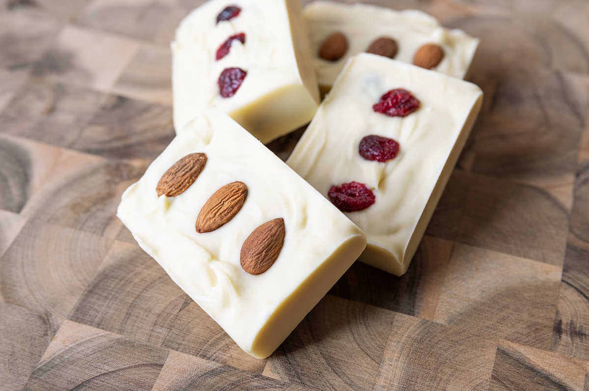 Weiße Schokolade selber machen