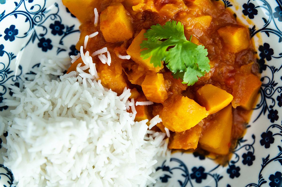 kuerbis curry rezept